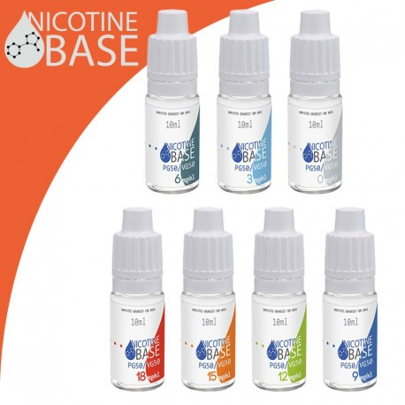 10ml Nikotin base 50%PG/50%VG