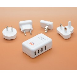 4 x USB Travel charger