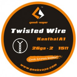 GeekVape Twisted Kanthal KA1 Wire (26GA * 2)