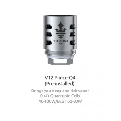 3 stk, V12 PRINCE-Q4 Replacement Coil - 0.4ohm