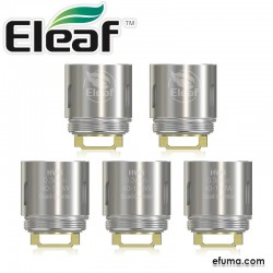 5pcs Eleaf HW4 Quad-Cylinder Head 0.3 ohm