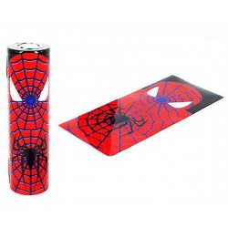 Batteri Wraps, 18650 - Spiderman