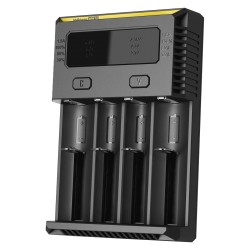 4-Slot Nitecore Intellicharger New I4 Li-Ion/NiMH Battery - Chargers