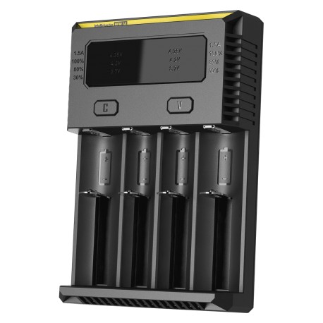 4-Slot Nitecore Intellicharger New I4 Li-Ion/NiMH Battery  - Opladere