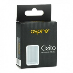 Cleito Pyrex Glass Replacement Tube - 3.5ml