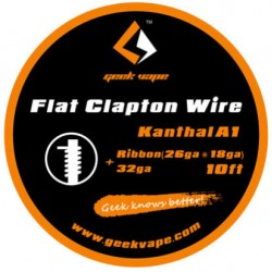 Flat Clapton Wire, Kanthal A1 - Geekvape - Clapton Wire