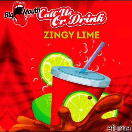 Call Us Or Drink - Zingy Lime - Big Mouth