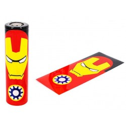 Batteri Wraps, 18650 - Ironman - Accessories
