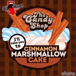 The Candy Shop - Cinnamon marshmallow cake  - Big Mouth Aroma
