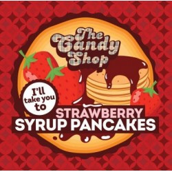 The Candy Shop - Strawberry Syrup Pancakes  - Big Mouth Aroma