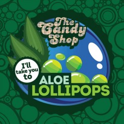 The Candy Shop - Aloe Lollipops  - Big Mouth Aroma
