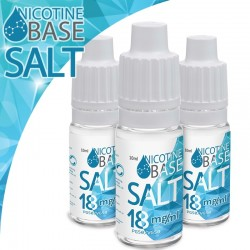 10ml Nicotine Base SALT PG50/VG50 - 18 mg - Nicotine Base