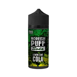 Soda Lemon Lime Cola - Moreish Puff, 120ml  - Moreish Puff