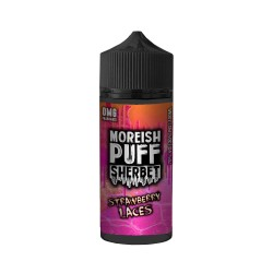 Strawberry Laces Sherbet - Moreish Puff, 120ml - Moreish Puff
