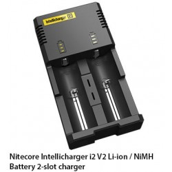 Nitecore Intellicharger NEW i2 V2 - Chargers