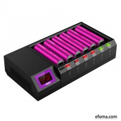 Efest New LUC Blu6 Bluetooth 6 Bay Charger - Chargers