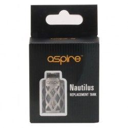 Nautilus Mini Udskiftelig Tank Glas (Hollowed Sleeve)  - Reservedele