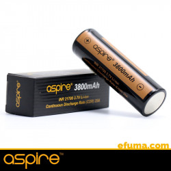 Aspire 21700 Battery, 3800mAh - Batteries