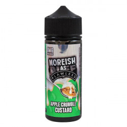 Apple Crumble Custard - Moreish Puff, 120ml  - Moreish Puff