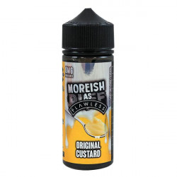 Original Custard - Moreish Puff, 120ml  - Moreish Puff