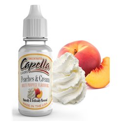 Peaches and Cream - Capella  - Capella Flavors
