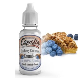 Blueberry Cinnamon Crumble - Capella