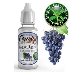 Concord Grape, Stevia - Capella
