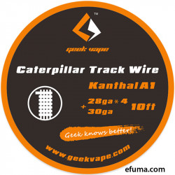 Caterpillar Track Wire - Geekvape - Special Wire