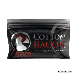 Wick n Vape Cotton Bacon v2  - Vat & Væge