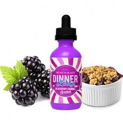 Blackberry Crumble, 60ml - Dinner Lady