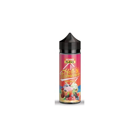 Hello Summer, Smuff Berries, 120ml - Horny Flava